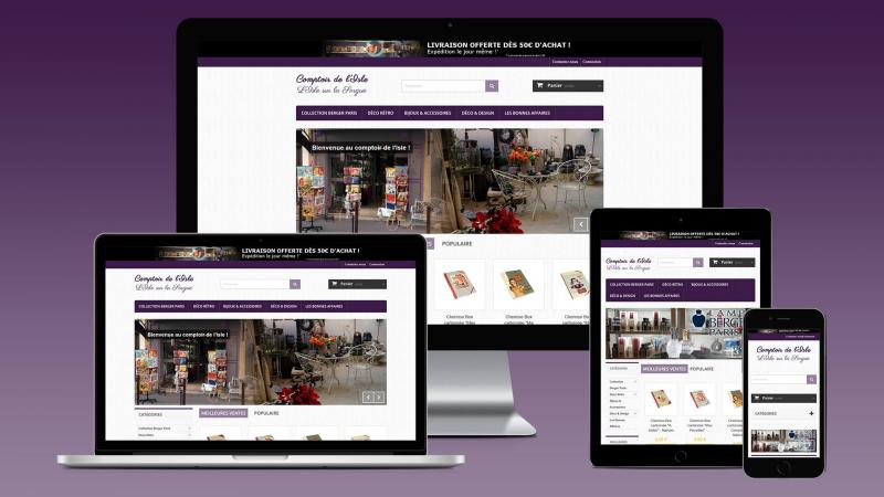 creation site e commerce decoration provence
