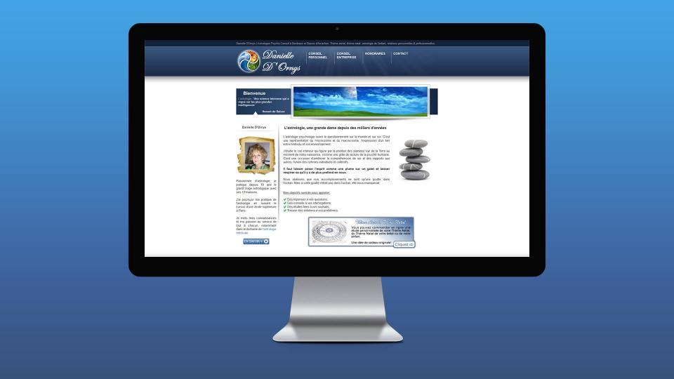 creation site internet astrologie bordeaux
