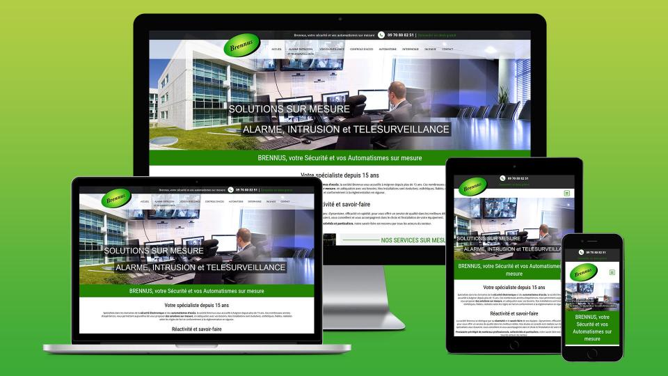 creation site internet brennus avignon