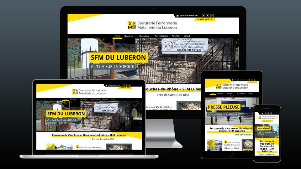 creation site internet serrurerie ferronnerie metallerie