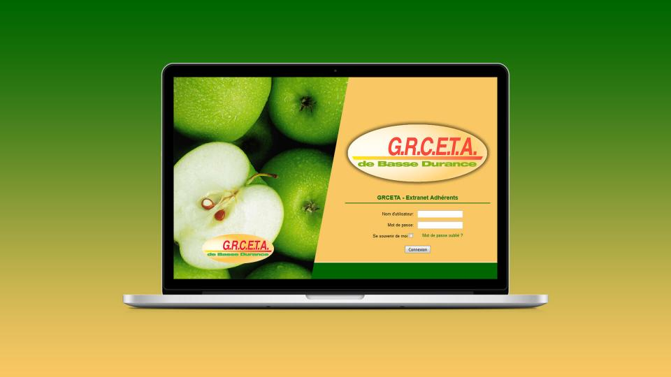 developpement site extranet grceta